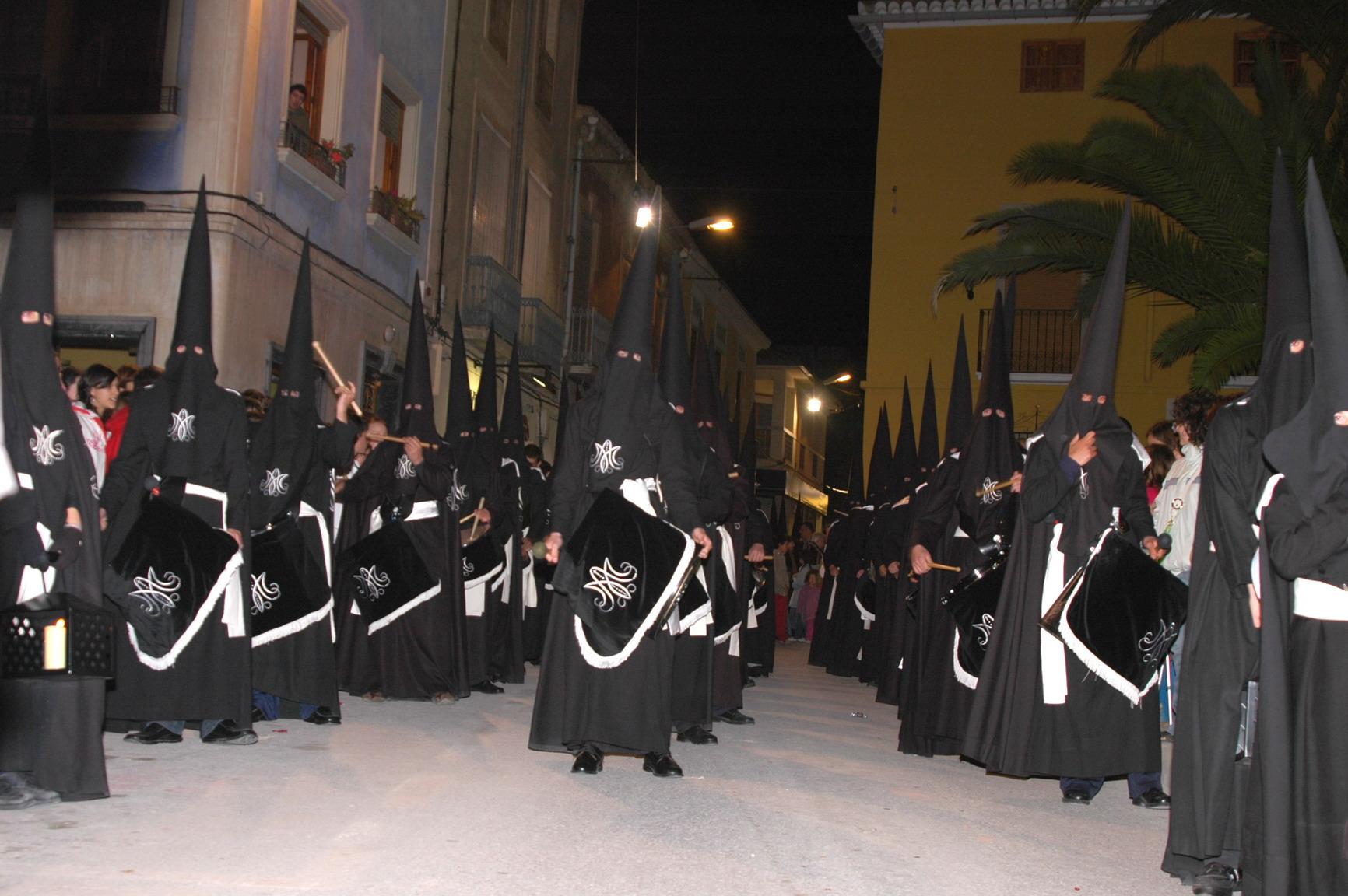 Banda de Tambores de la Cofradía el Miercoles Santo de 2007