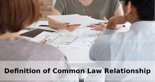 Definition of Common Law Relationship