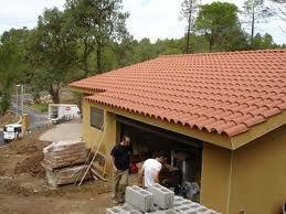 Pompilio martinez construcciones cubiertas for Tipos de laminas para techos de casas