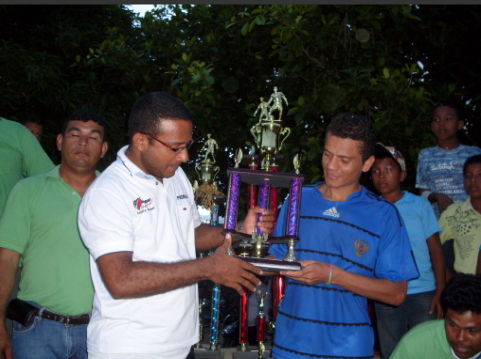 Fotografias de la entrega de premios.