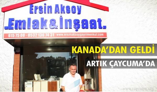 Filyos Vadisi'nin Yıldızı_Ersin Aksoy Emlak ve İnşaatla parlıyor...