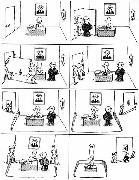 Asamblea de vecinos y maestros organizados humor grafico for Oficina de cambio