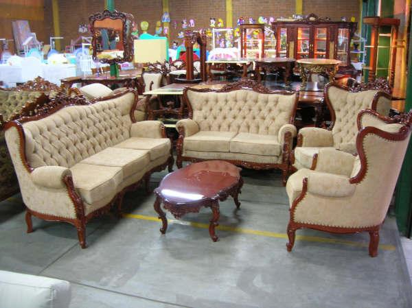 Muebles tallados catalogo de muebles for Modelos de muebles para sala