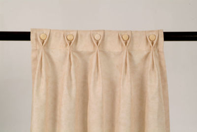 Cortinas y fundas vivian espinoza selecci n fotogr fica for Argollas con pinzas para cortinas