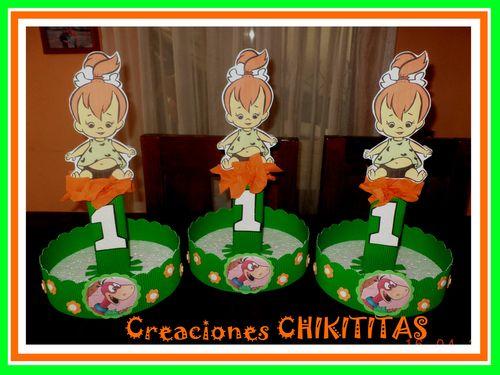 CREACIONES CHIKITITAS - Pebbles y Bam bam