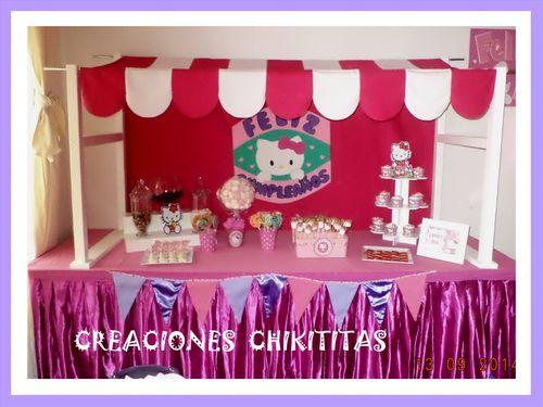 Creaciones chikititas cumplea os for Mini candy bar de madera