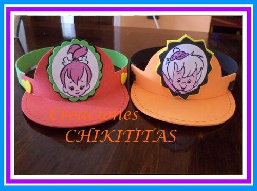 Creaciones Chikititas Pebbles Y Bam Bam