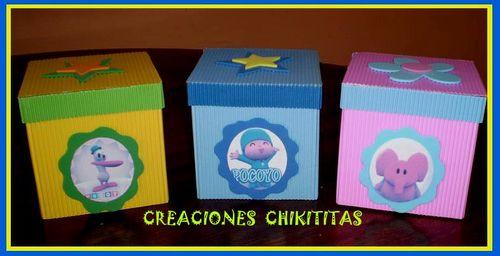Creaciones Chikititas Pocoyo