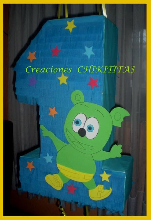 Creaciones Chikititas Osito Gominola