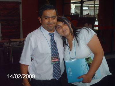 Alex Gonzalez Y Vanessa Fuenzalida