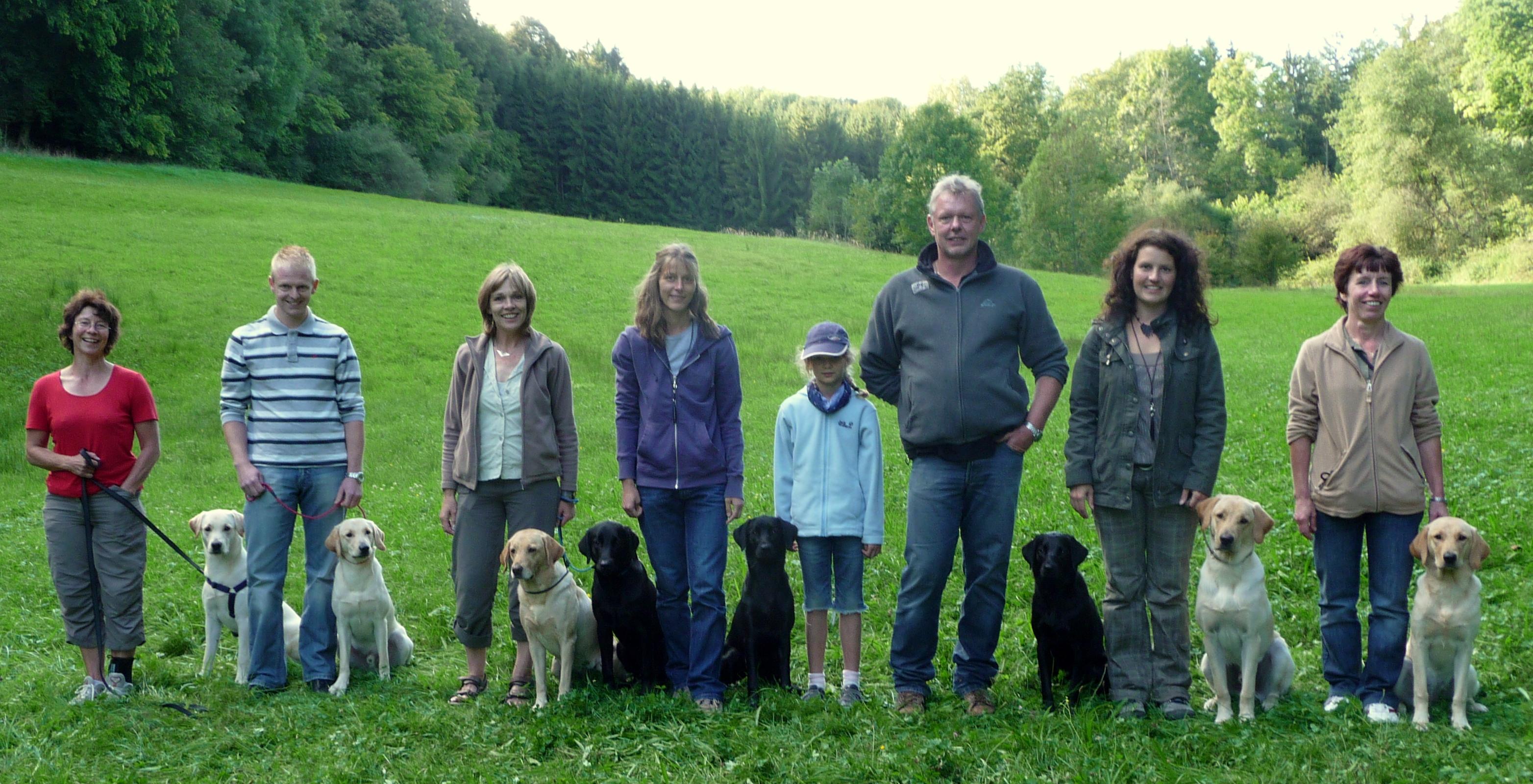 CrossSearcher A-Wurf Familientreffen @ Angelika Hinderer