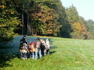 Schule im Wald, Spurensuche @ Angelika Hinderer