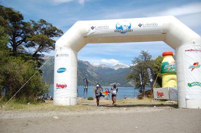 Team Equipo Qhantir Qullu Qullu Columbia Cruce de los Andes 2009 Ariel Raguzzi llega etapa 2