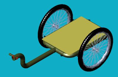 Bike trailer 1