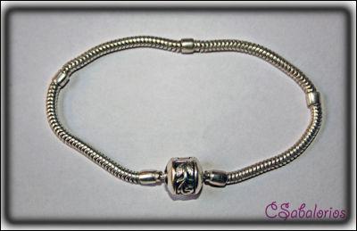 pulseras estilo pandora plata
