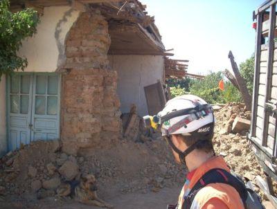 Rescatistas de Cumbre Norte en el Terremoto de Chile 2010