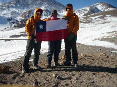 Ascensión invernal Cerro las Tórtolas 6.160 mts.