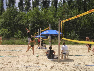 Beachvolleyballplatz