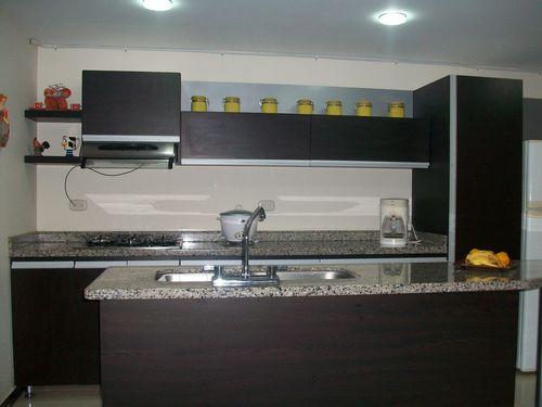 Cygarteydecoracion cocinas for Enchapes de cocina