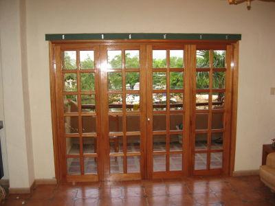 Daniel el carpintero puertas for Puertas balcon usadas