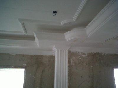 Ing ricardo de bacco yeso drywall for Modelos de techos de yeso
