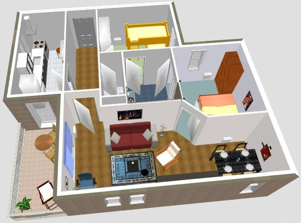 Decortiendas dise o de interiores for Software decoracion interiores 3d gratis