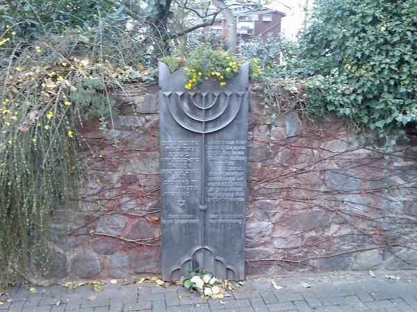 Alzenau Synagoge Denkmal