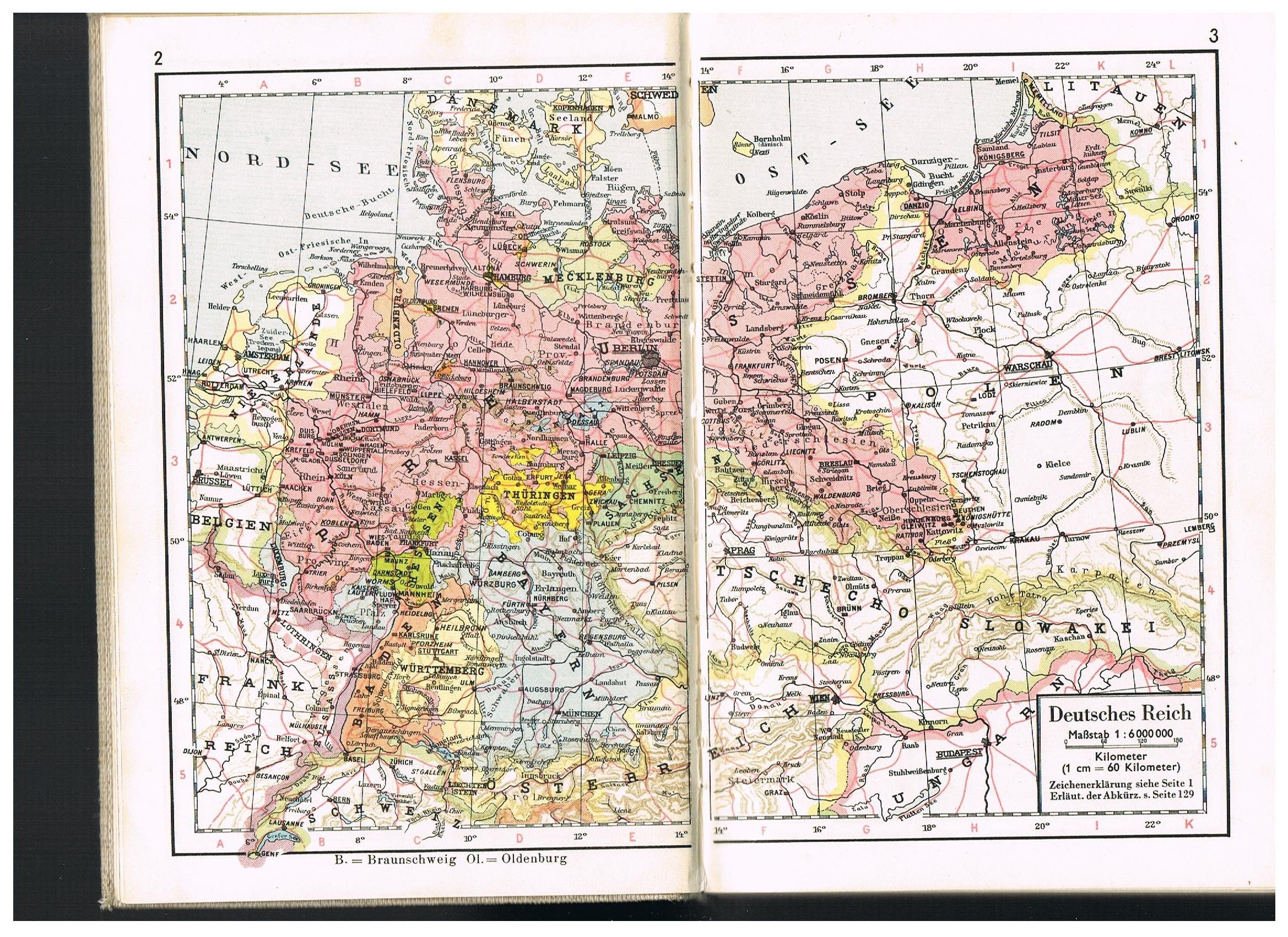 Deutsches Reich Karte 1943.Der Weltkrieg War Vor Deiner Tur