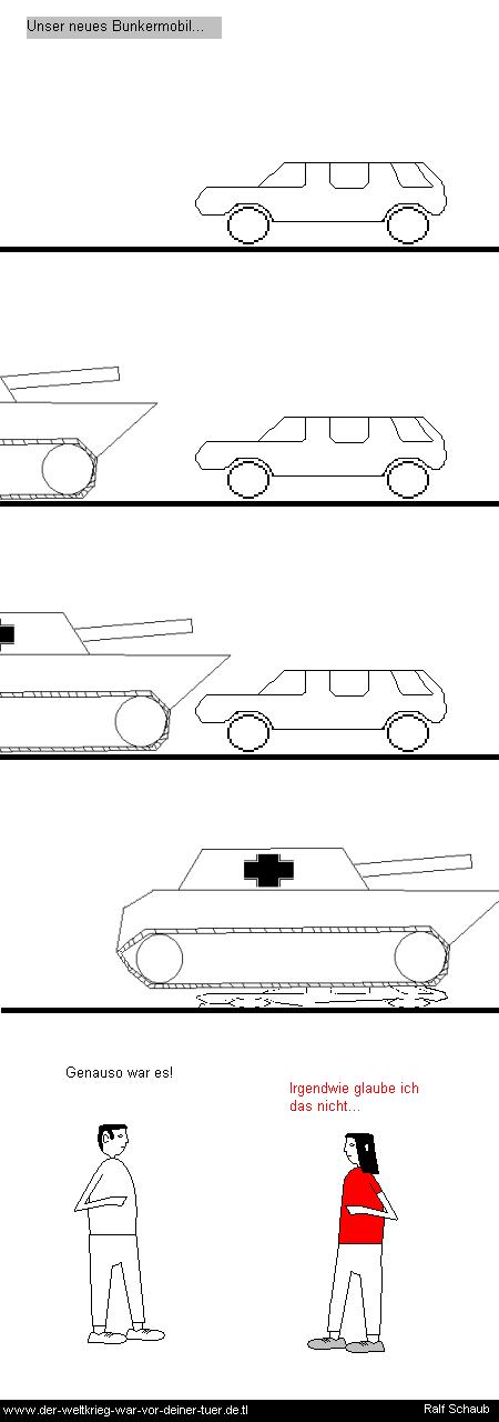 Bunkermobil Panzer