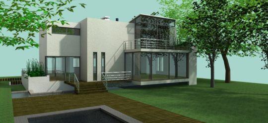Dessinateur autocad projet 1 for Plan maison sketchup
