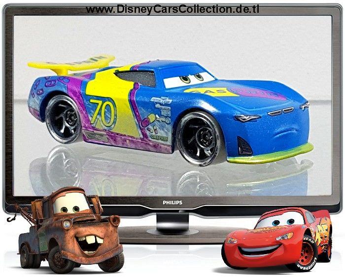Disney Pixar Cars 3 Fireball Beach Racers Richie Gunzit