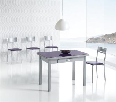 Distribuciones picazo mesas y sillas de cocina for Sillas de colores para cocina