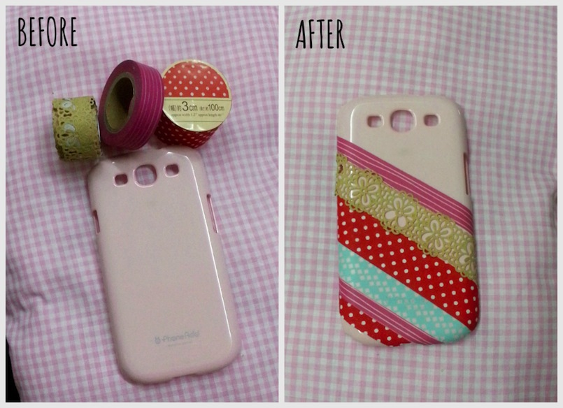 Diytumblr funda del m vil - Decorar funda movil ...