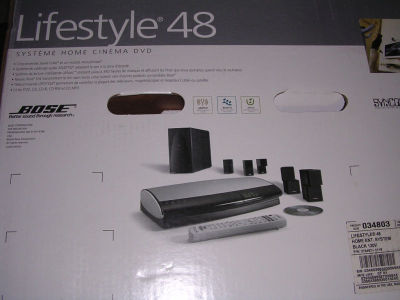 bose lifestyle 48. bose lifestyle 48 dvd home entertainment system......$2,900 r