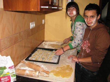 Pieczenie ciasteczek 29.09.2010r.