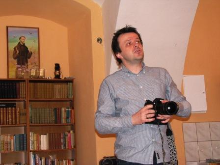 Matecznik i fotograf