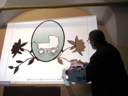 Malowanie logo matecznika