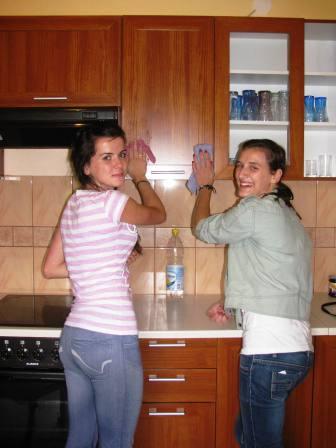 Sprzątanie kuchni 15.09.2011r.