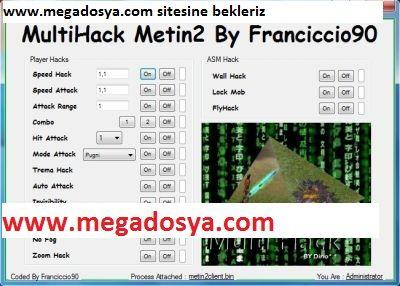 Metin2 Güncel İtalyan Multihack Serisi İndir | MeGaDoSYa