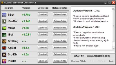 Silkroad bots download.