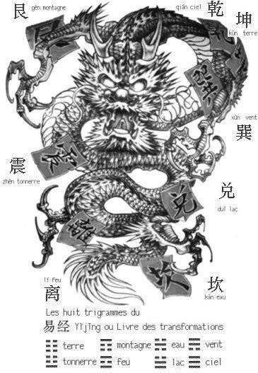 dragon noir dragon chinois. Black Bedroom Furniture Sets. Home Design Ideas
