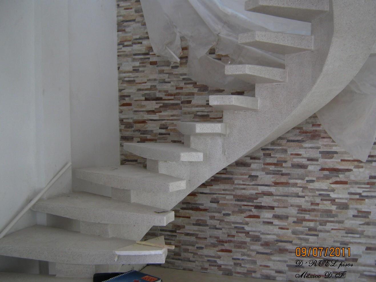 Droelpisosmexico escaleras for Escaleras de marmol y granito