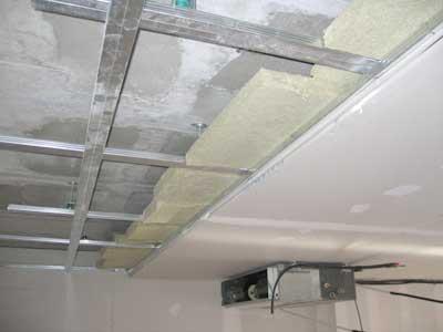 Acoustic drywall aislamiento acustico - Aislantes acusticos caseros ...
