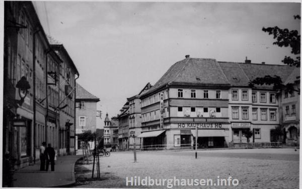 Deutschland Johanngeorgenstadt Sachsen DDR Postkarte ~1973 Wismut-Handel Gaststätte Tourist