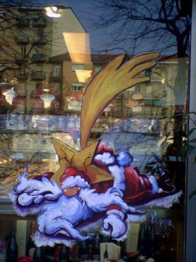 Dipinti murali quadri vetrine di natale o per ogni - Pinguini di natale immagini ...