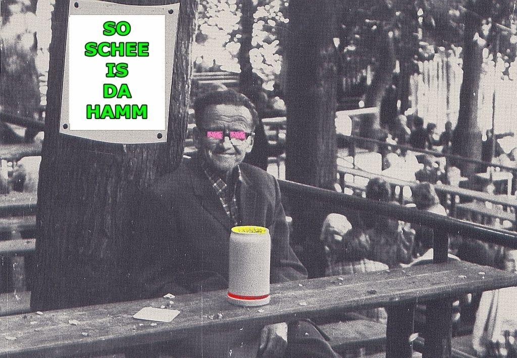 """Nur noch a weng schlafen, dann gesellt sich am 44-jährigen JubelFrühSchoppen im wetterfesten Biergarten des JC Omega (unter der Hochstraße) zum neuen E-W-B Live-Liedgut ebenso erstmalig der Song: """"SO SCHEE IS` DAHAMM"""", in dem die aktuellen heurigen Erich-/Entla-Keller Zustände (wie mehrfach, auch in den Erlanger Nachrichten, berichtet), thematisiert werden. Das Lied wurde mit Rücksichtnahme auf die prekäre Sicherheitslage am Berch 2019 bislang zurückgehalten - darf jedoch ab 14.7. (Sonntag, 12Uhr, vor Ort im Omega) lautkehls umherskandiert, bzw. mitgegrölt werden! Kostprobenraumausschnitt:"""