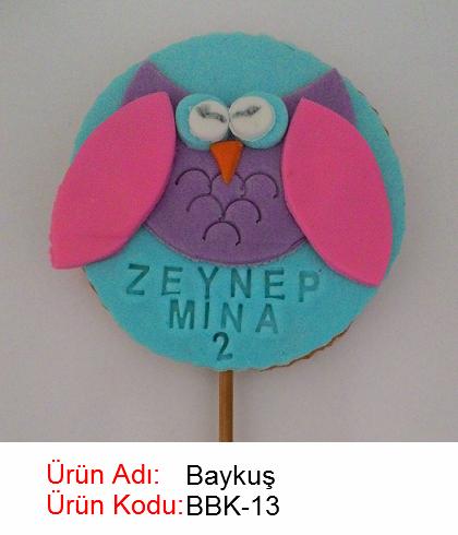 Baykuş bebek kurabiyesi