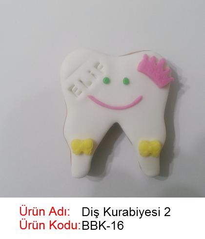 Diş bebek kurabiyesi