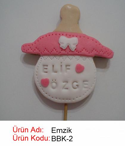 Emzik bebek kurabiyesi
