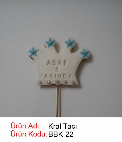 Kral Tacı bebek kurabiyesi